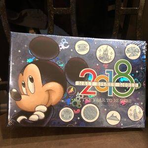 5/$30 Disney Mickey Chip Dale 2018 Photo Album